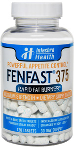 fenfast tablets in bottle